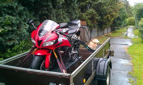 Motorrad Transport Ohne Anhänger by Tipps F 252 R Motorrad Transport Auf Einem H 228 Nger Seite 2