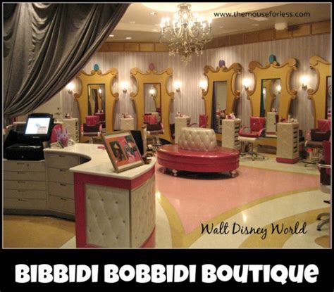 beyond beautiful salon and boutique bibbidi bobbidi boutique salon at walt disney world resort