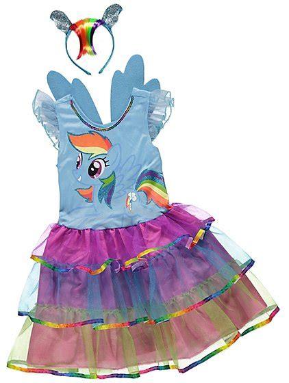 my pony rainbow dash fancy dress costume george