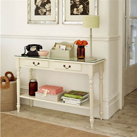 slim entryway storage console table design skinny console table with storage