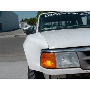 ford ranger fenders replacement ford fender flares