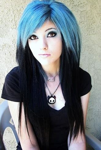 exquisite shades of blue black hair which one suits you best black and blue hairstyles definitely not for the faint