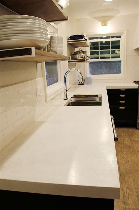 How To Make White Concrete Countertops by 25 Best Ideas About White Concrete Countertops On