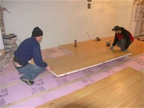 hardwood floor panels lightweight high strength engineered plywood as insulated flooring panels non warping patented