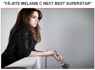 next best superstar melanie c no brasil