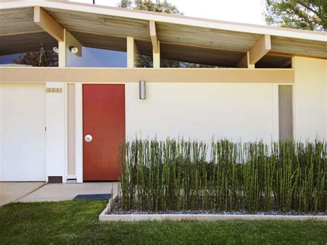 curb appeal tips for midcentury modern homes hgtv hello good design recap architectural digest home