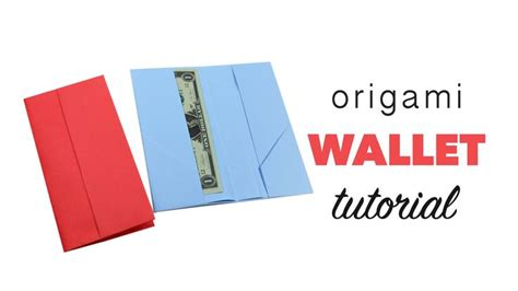 How To Make A Paper Wallet With Pockets - 17 best ideas about origami wallet on origami