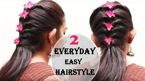 hairstyle design easy easy hair style design simple craft ideas