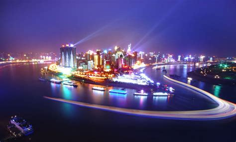 chinas  beautiful cities  night china whisper