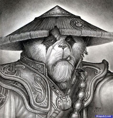 pandaren tattoo how to draw a pandaren world of warcraft pandaren