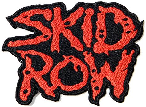 Kaos Band Skid Row Tshirt Musik Rock Skid 01 Skid Row Logo Rock Heavy Metal Band Jacket T