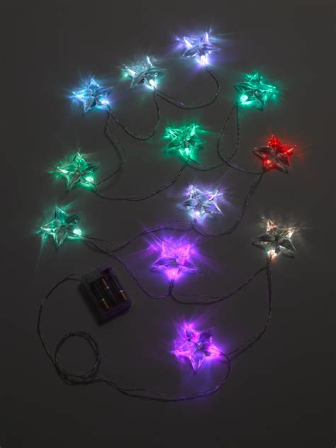 colorful battery operated led string lights