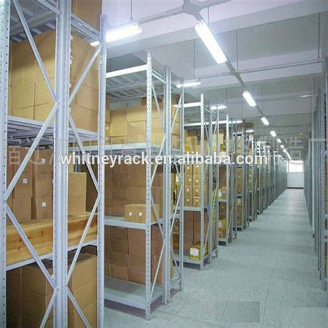 cheap shelving system warehouse steel slanted wall