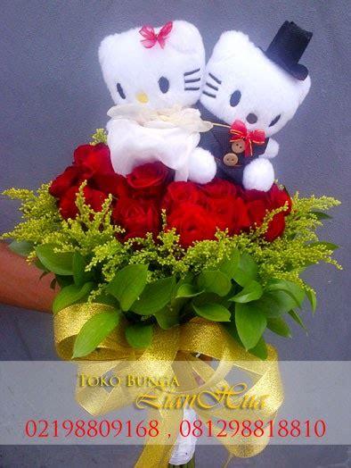 Bouquet Bunga Flanel Isi 10 Bunga toko bunga jakarta florist flowers shop indonesia