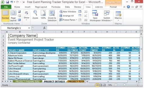 logistics excel templates free event planning tracker template for excel