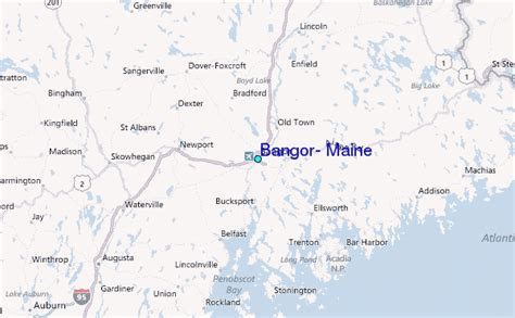 bangor maine map bangor maine tide station location guide