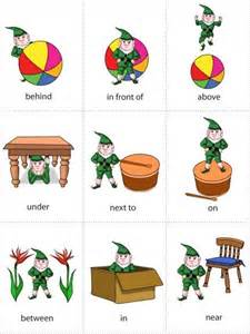 level 1 prepositions of place