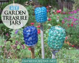 How To Decorate A Small Backyard How To Make Garden Treasure Jars Easy Kid Craft