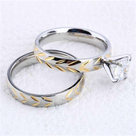 Cincin Emas Pasangan Sepasang P1343 6 alternatif logam selain emas untuk cincin kawin referensi buat pasangan muslim nih