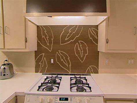 kitchen tile paint ideas handpaint a kitchen backsplash hgtv