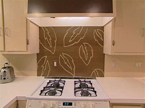 Kitchen Tile Paint Ideas Handpaint A Kitchen Backsplash Hgtv