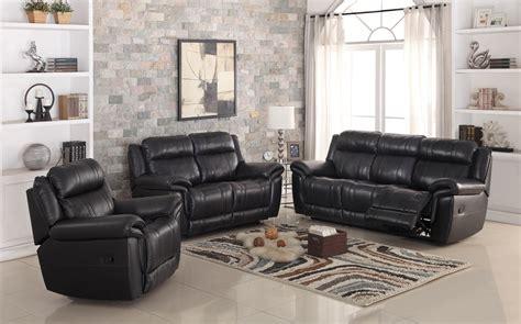 dallas recliner leather sofa set furtado furniture