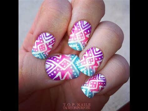 imagenes de uñas normales decoradas lindas u 209 as decoradas youtube