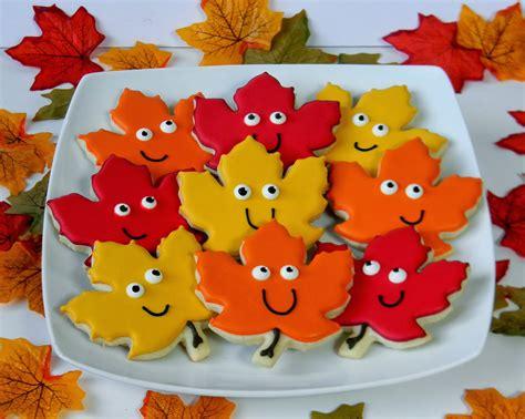 sweet melissa s cookies happy fall cookies