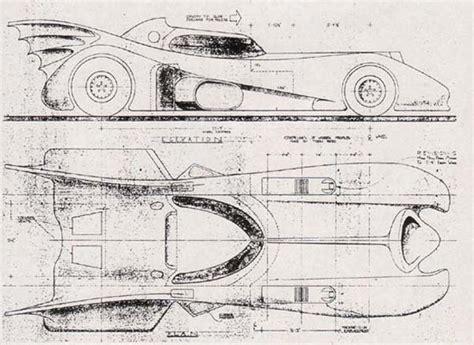 make a blueprint build your own 1989 batmobile using these blueprints