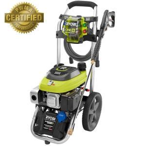 ryobi 3 200 psi 2 5 gpm one electric start gas pressure