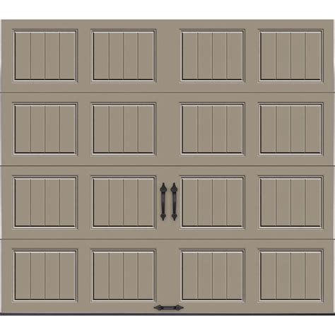 Garage Door 8 X 7 Clopay Gallery Collection 8 Ft X 7 Ft 18 4 R Value