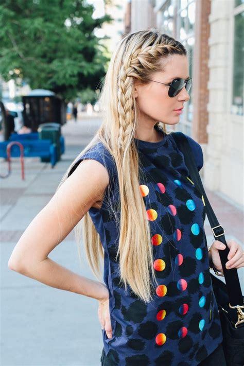 imagenes de look de pelo 2016 la moda en tu cabello pelo suelto con trenzas 2016