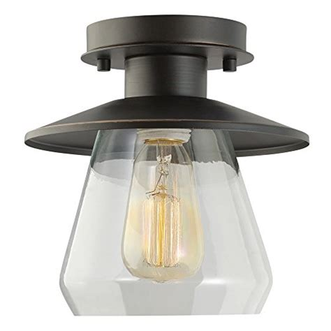 Globe Ceiling Light Fixtures Globe Electric 64846 1 Light Vintage Semi Flush Mount Ceiling Light Fixture New Ebay
