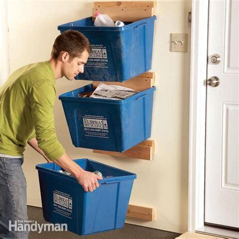 Garage Storage Ideas For Totes 35 Diy Garage Storage Ideas To Help You Reinvent Your