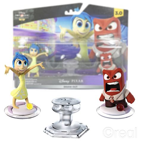 disney infinity new charactersing out new disney infinity 3 0 inside out playset fear disgust