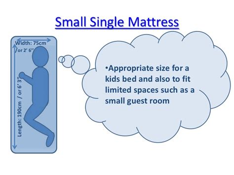 smallest bed size a guide to uk mattress sizes