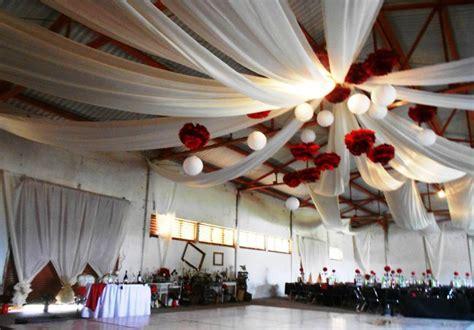 como decorar para bodas de rubi decoraci 243 n de bodas con telas 34 fotos de bodas increibles