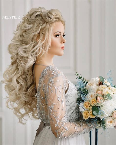 Wedding Hairstyles For Brides With Hair by 18 Beautiful Wedding Hairstyles For Brides And