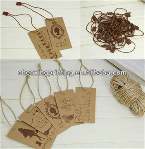 printable gift tags with string custom vintage recycled kraft paper hang tags with cotton