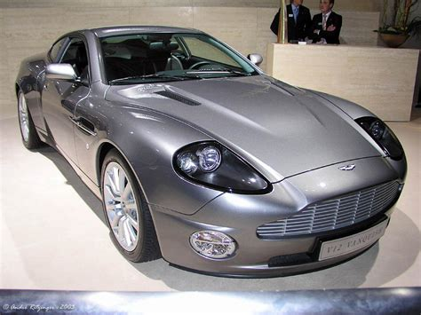 Aston Martin Vanquish 2003 2003 aston martin v12 vanquish information and photos
