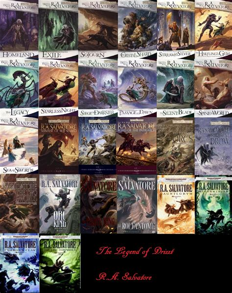 libro hero legend of drizzt legend of drizzt by r a salvatore tonterias leer libros y quiero