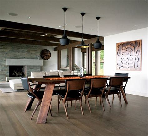 The Modern Dining Room the modern dining room style home modern lighting design