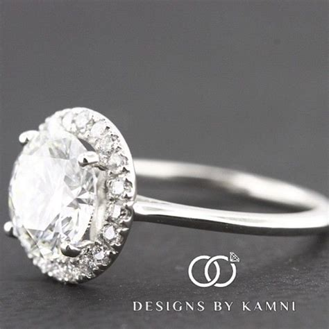 design by kamni instagram 144 best round engagement rings images on pinterest