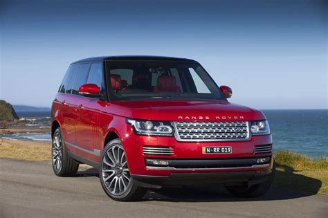red land rover 14 range rover autobiography in red perfect for an