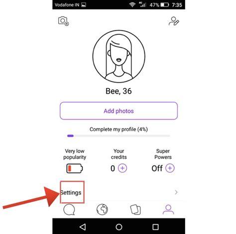 badoo mobile app delete badoo account on website android app ios app