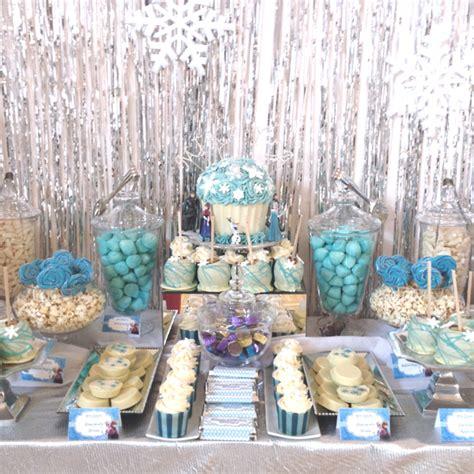 Frozen Table by Frozen Themed Buffet Buffets L