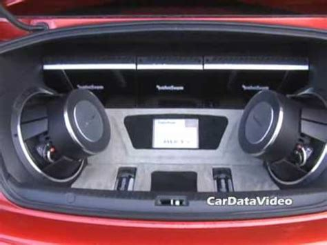 video 2008 mitsubishi evo x rockford fosgate audio