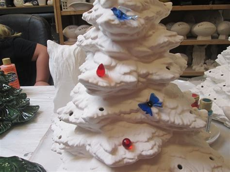 ready to paint ceramic bisque 21 quot christmas tree with