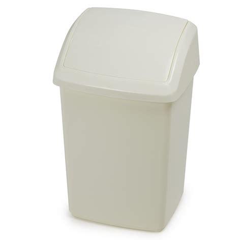 cream swing bin whitefurze swing bin