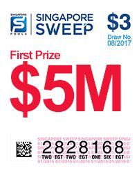Singapore Sweepstakes - national day singapore sweep 2017